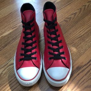 Converse All Star Leather High Top Sneakers